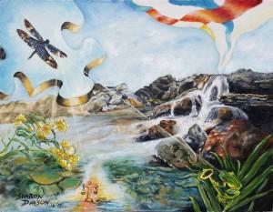 Cascading into Consciousness by Sharon Davson