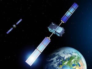 16 Galaxy Wisdom satellite image Clipart